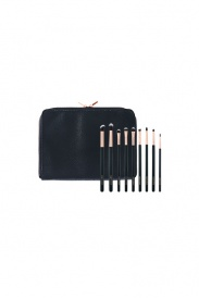 casper and lewis oval brush set. $99.95 each casper \u0026 lewis foundation powder brush set with clutch pouch. $119.95 and oval